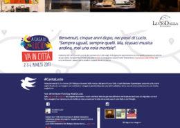La home page